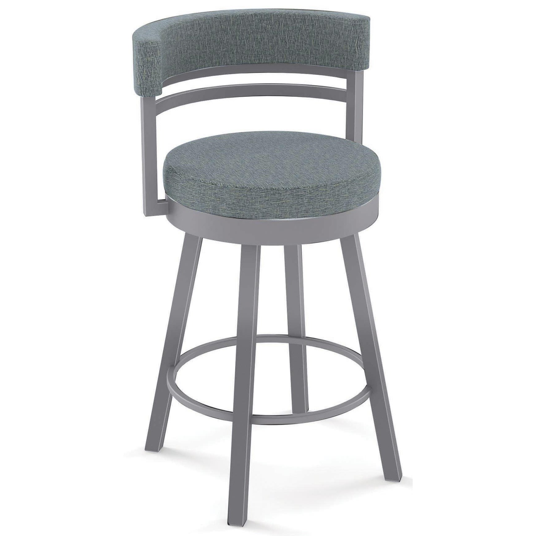 Urban Ronny Swivel Counter Stool by Amisco at HomeWorld Furniture
