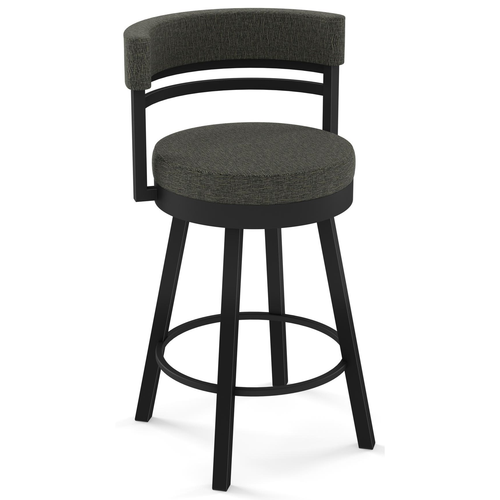 """Urban 26"""" Counter Height Ronny Swivel Stool by Amisco at Saugerties Furniture Mart"""