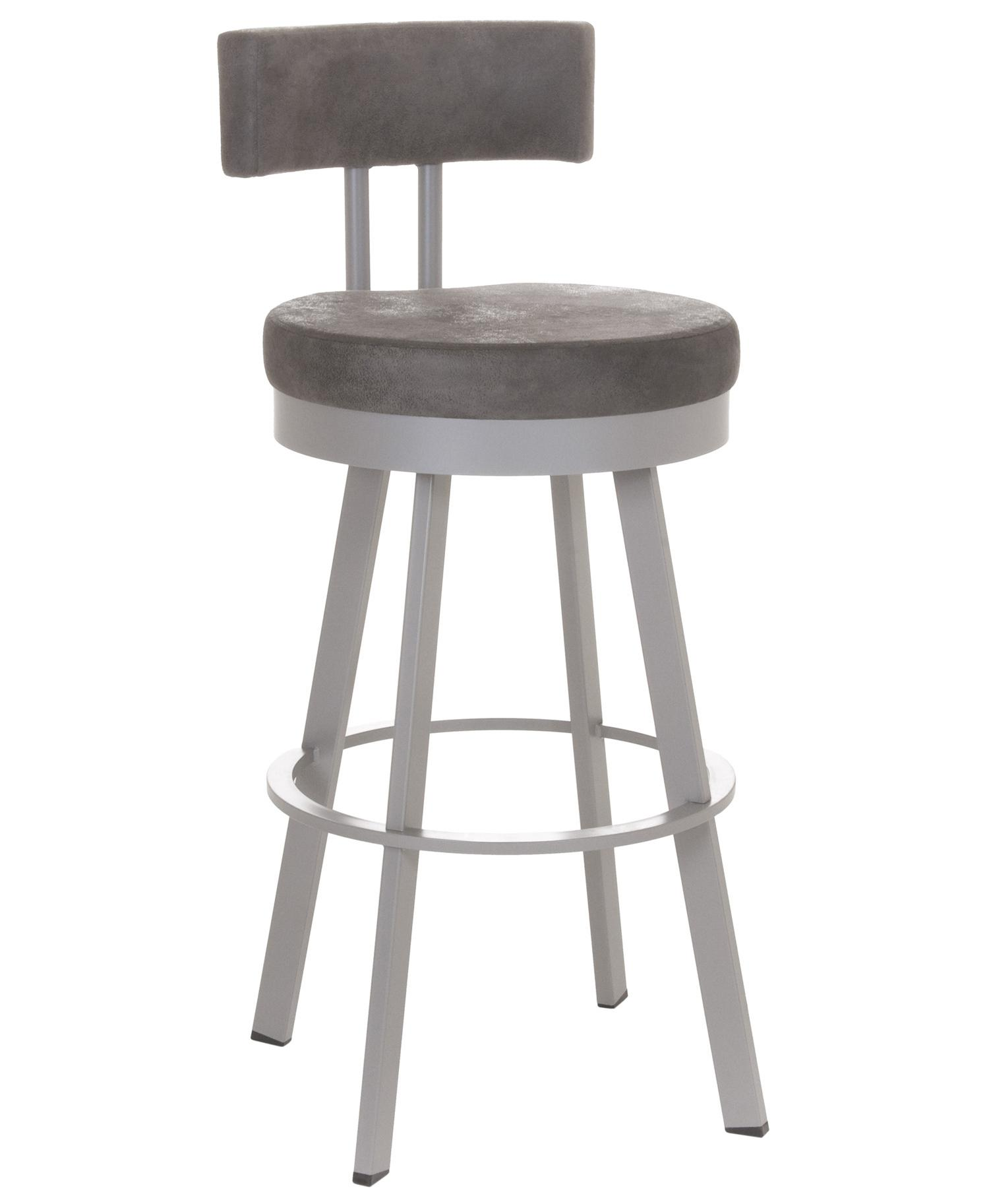 Urban Spectator Height Barry Swivel Stool by Amisco at Jordan's Home Furnishings