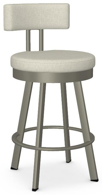 Urban Customizable Barry Swivel Counter Stool by Amisco at Crowley Furniture & Mattress