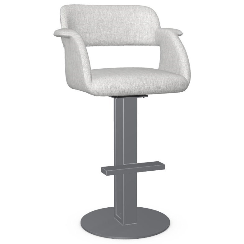 Urban Customizable Positano Swivel Bar Stool by Amisco at SuperStore