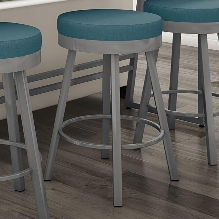 """Urban 26"""" Counter Height Rudy Swivel Stool by Amisco at Saugerties Furniture Mart"""