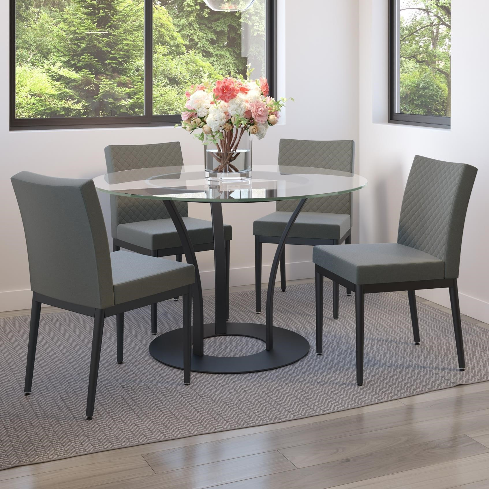 Urban 5-Piece Dalia XL Table Set by Amisco at Jordan's Home Furnishings