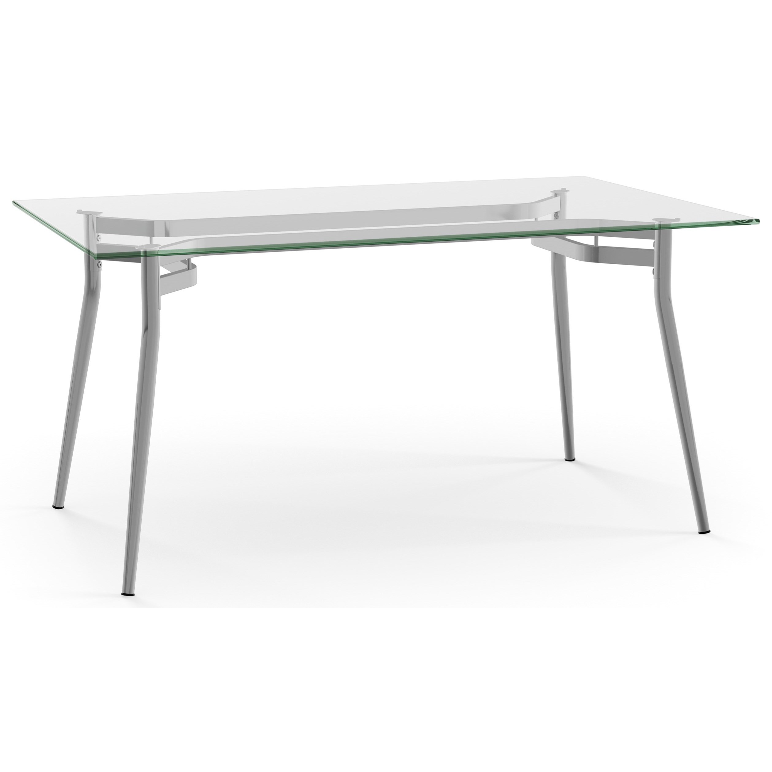 Urban Alys Table with Glass Top by Amisco at Rooms and Rest