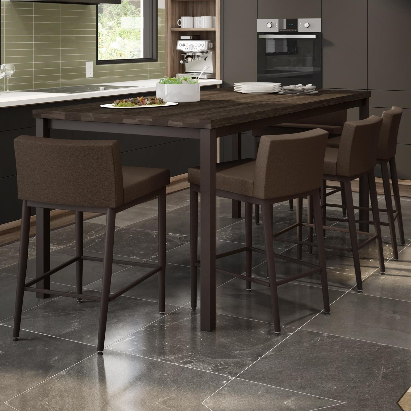 Urban Nicholson Counter Table Set by Amisco at Rooms and Rest