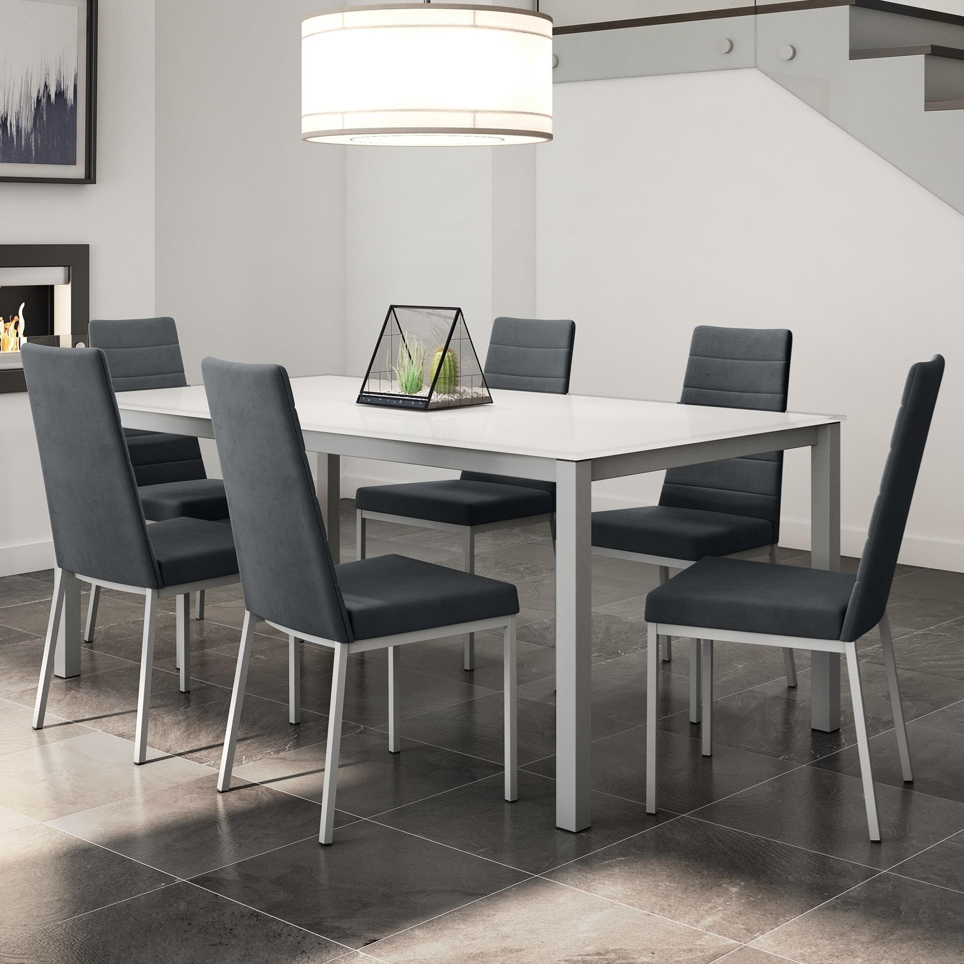 Urban 7-Piece Bennington Table Set by Amisco at Jordan's Home Furnishings