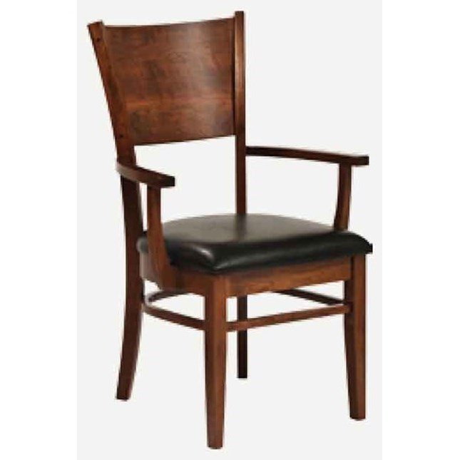 Americana Arm Chair - Leather Seat at Williams & Kay