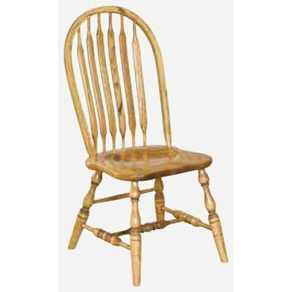 Angola Customizable Solid Wood Side Chair at Williams & Kay