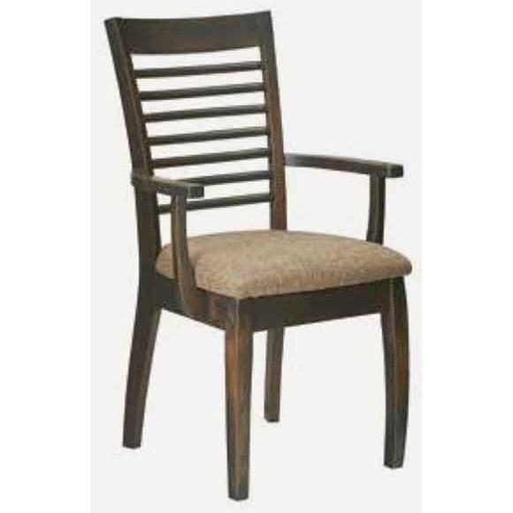 Aurora Arm Chair - Fabric Seat at Williams & Kay