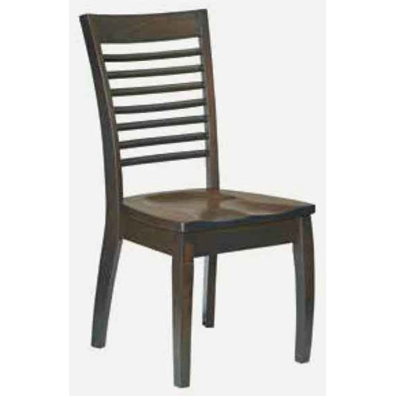 Aurora Side Chair - Wood Seat at Williams & Kay