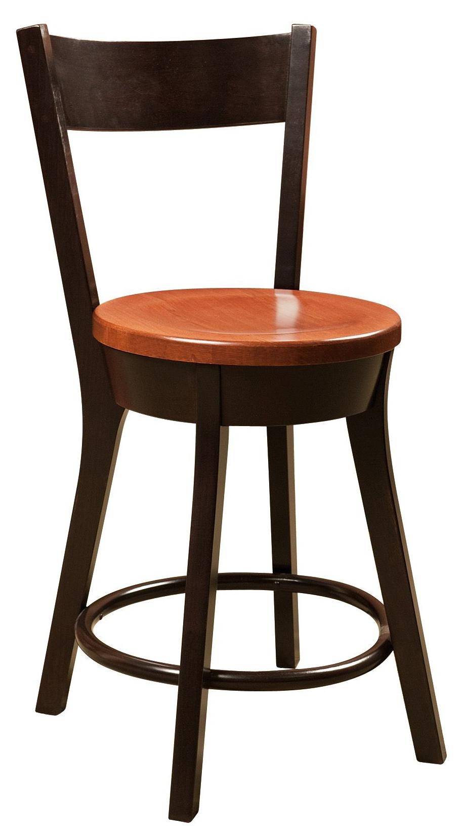 Bar Chairs Cape Cod Bar Chair by Amish Impressions by Fusion Designs at Mueller Furniture