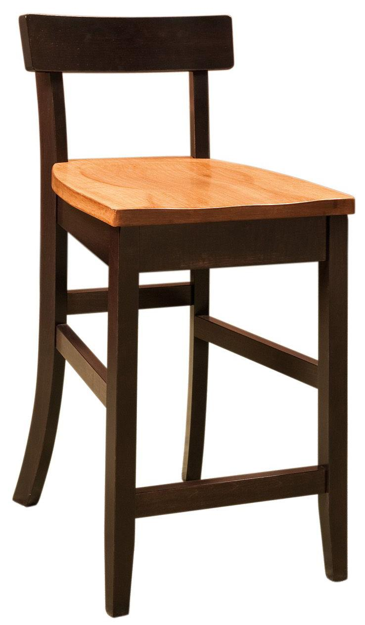 Bar Chairs Edan Bar Chair by Amish Impressions by Fusion Designs at Mueller Furniture