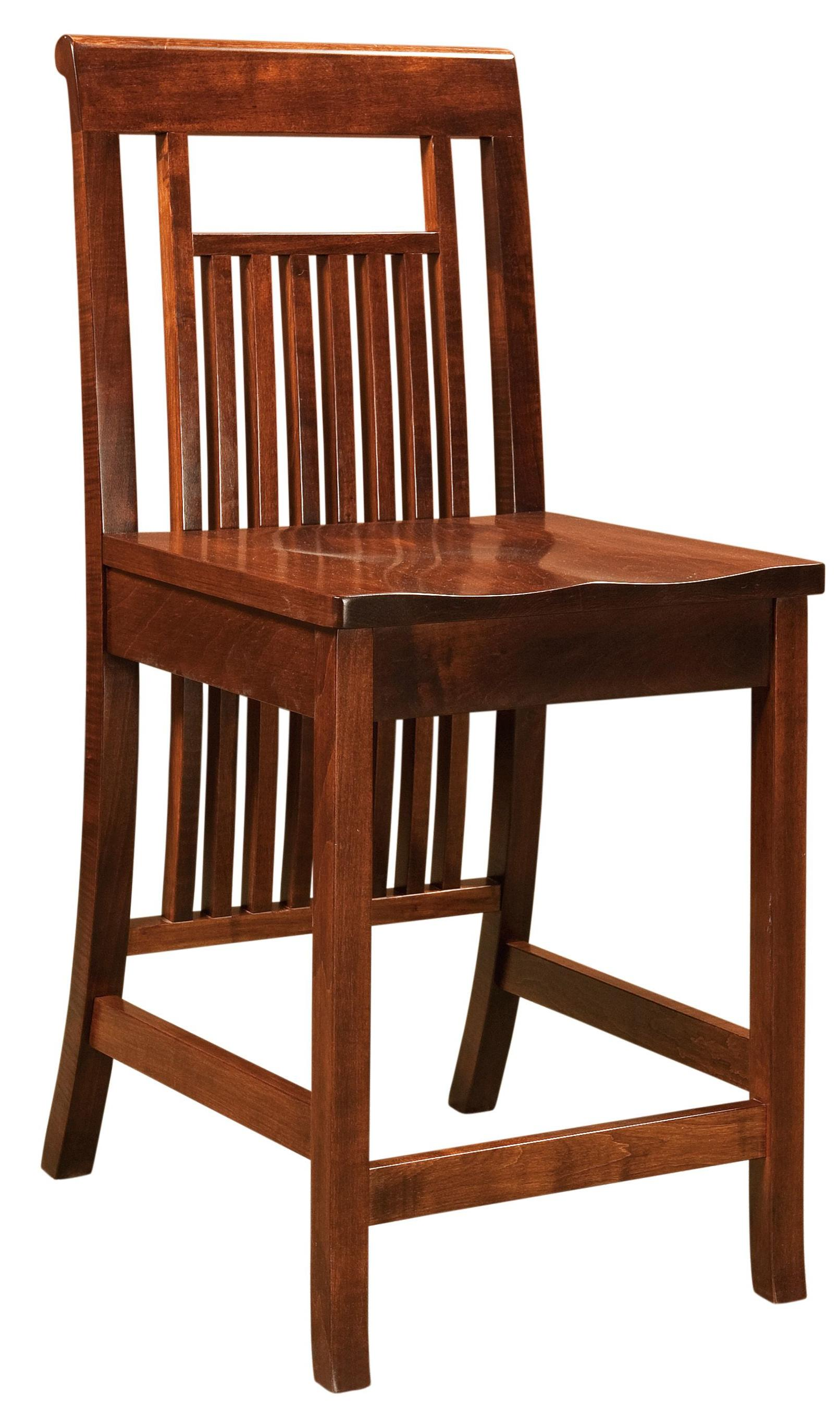 Bar Chairs Savannah Bar Chair by Amish Impressions by Fusion Designs at Mueller Furniture