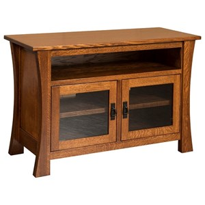 Brigham Small TV Cabinet with Adjustable Shelves