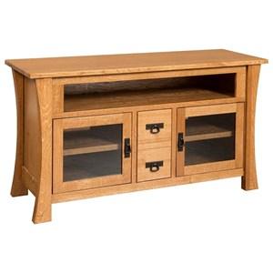 Brigham Medium TV Cabinet with Dovetail Drawers