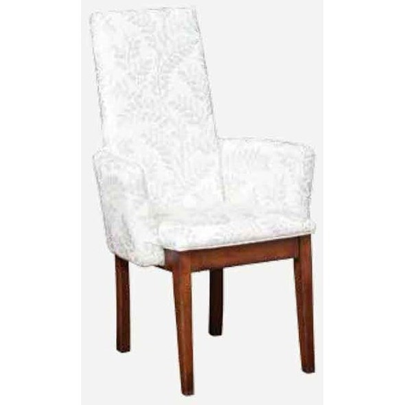 Bungalow Parson Arm Chair - Fabric Seat by Amish Impressions by Fusion Designs at Wilson's Furniture
