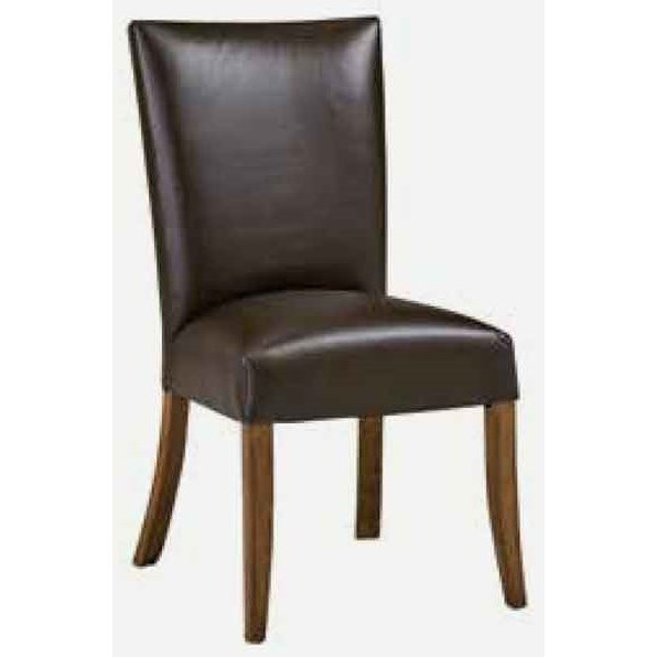 Caspian Side Chair - Leather at Williams & Kay