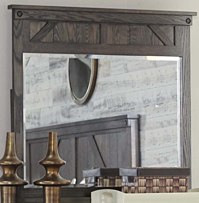 Cedar Lakes Cedar Lake Mirror by Amish Impressions by Fusion Designs at Morris Home