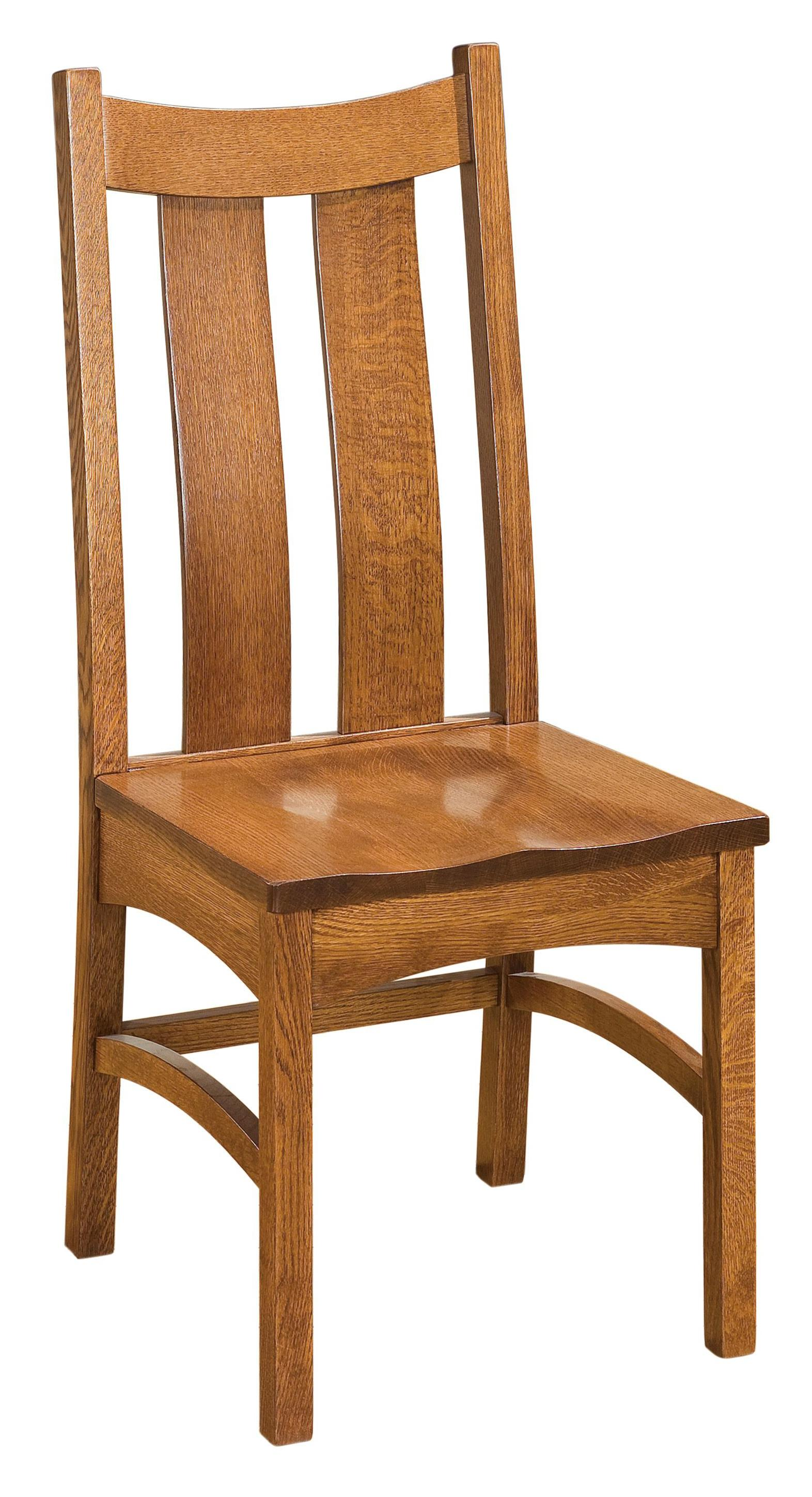 Franklin Franklin Amish Side Chair by Indiana Amish at Walker's Furniture