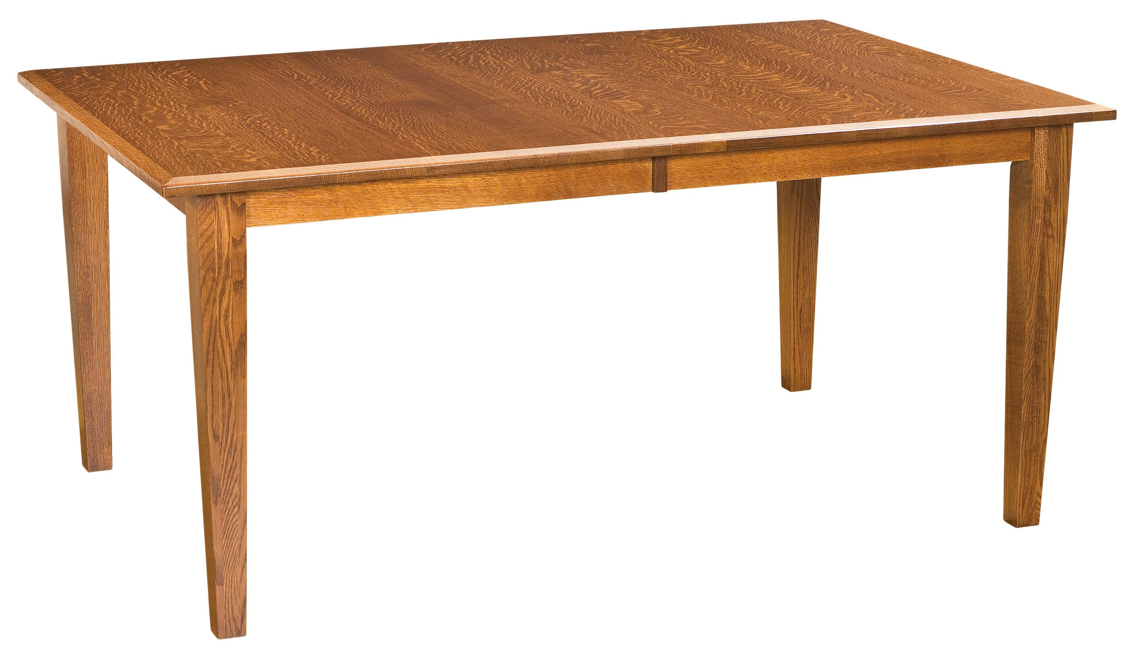 "Classic 42""x72"" Table by Amish Impressions by Fusion Designs at Mueller Furniture"