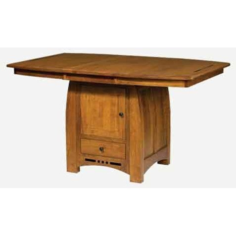 Hayworth Table with Butterfly Leaf by Amish Impressions by Fusion Designs at Mueller Furniture