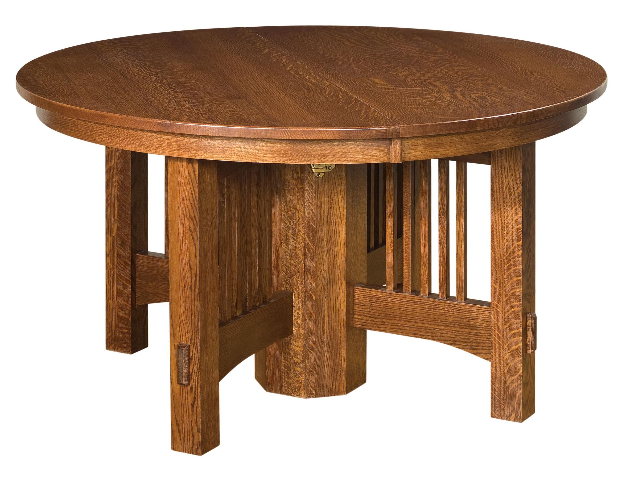 """Heartland 54"""" Round Table by Amish Impressions by Fusion Designs at Mueller Furniture"""