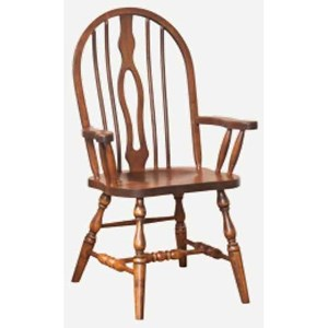 Keyback Arm Chair