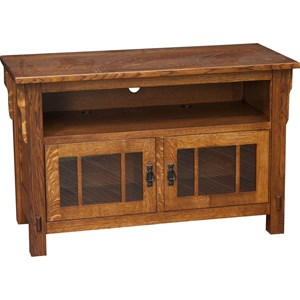 Medallion Small TV Cabinet with Adjustable Shelves