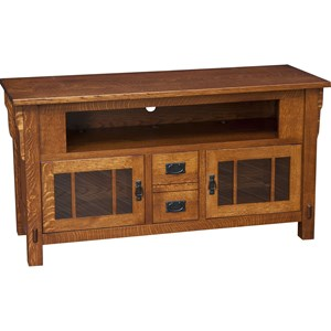 Medallion Medium TV Cabinet with Dovetail Drawers