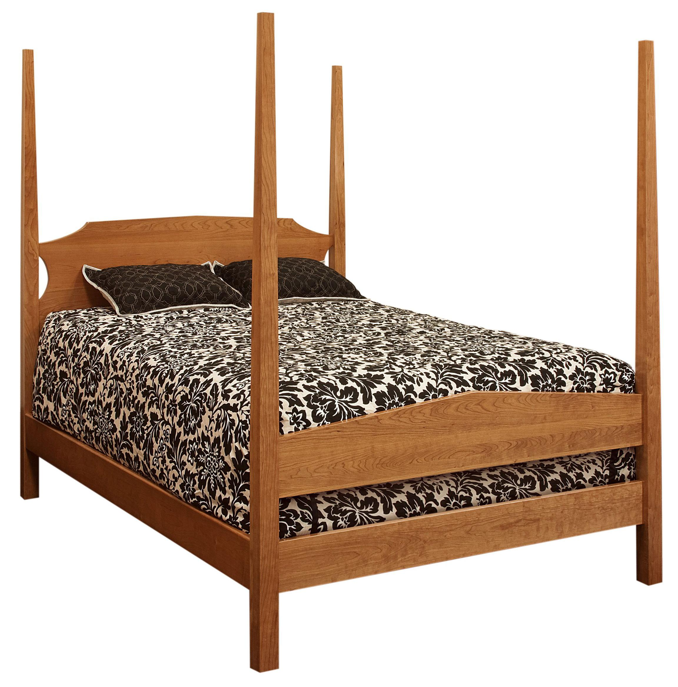 Sedona Queen Poster Bed by Amish Impressions by Fusion Designs at Mueller Furniture