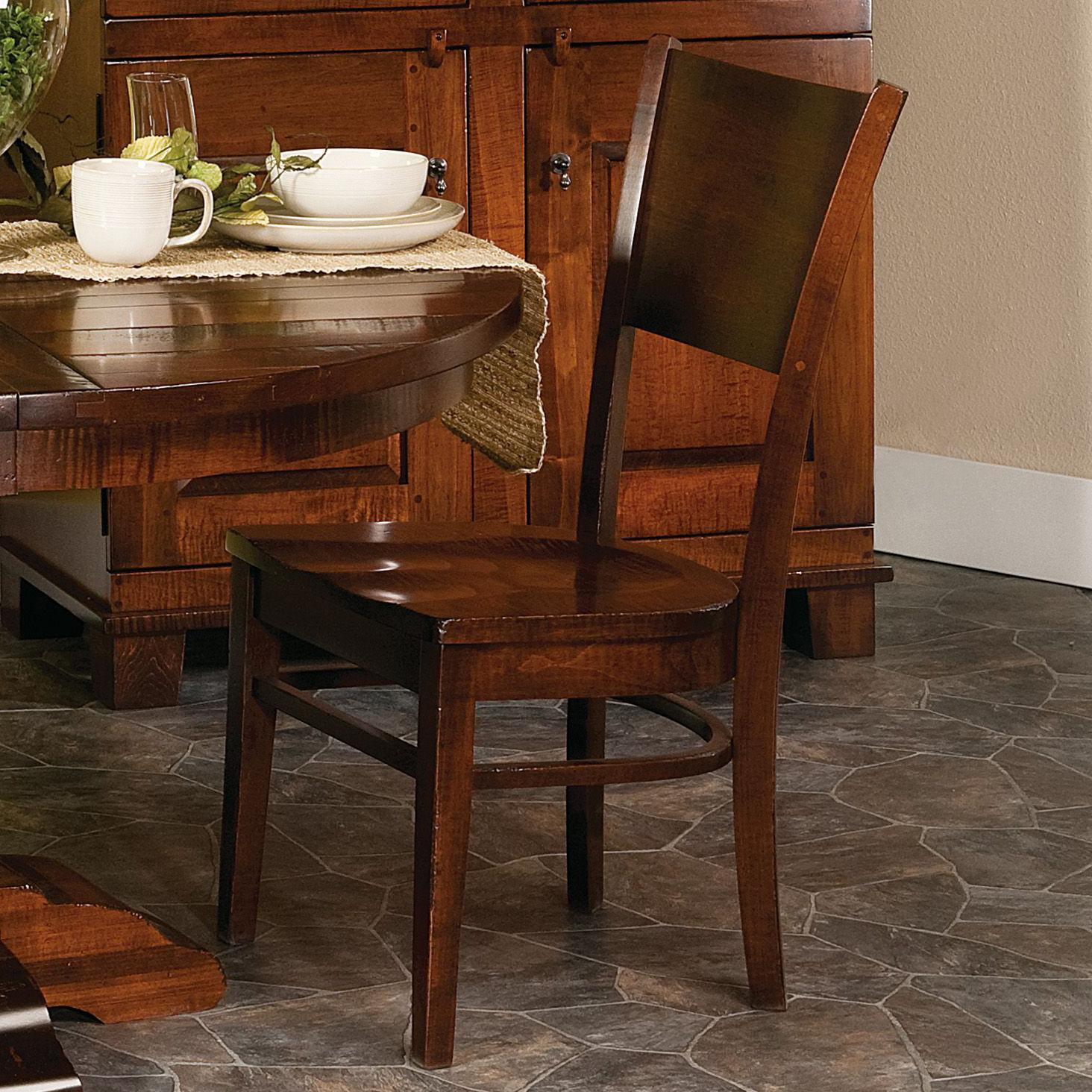 Webster Abbott Amish Side Chair by Indiana Amish at Walker's Furniture