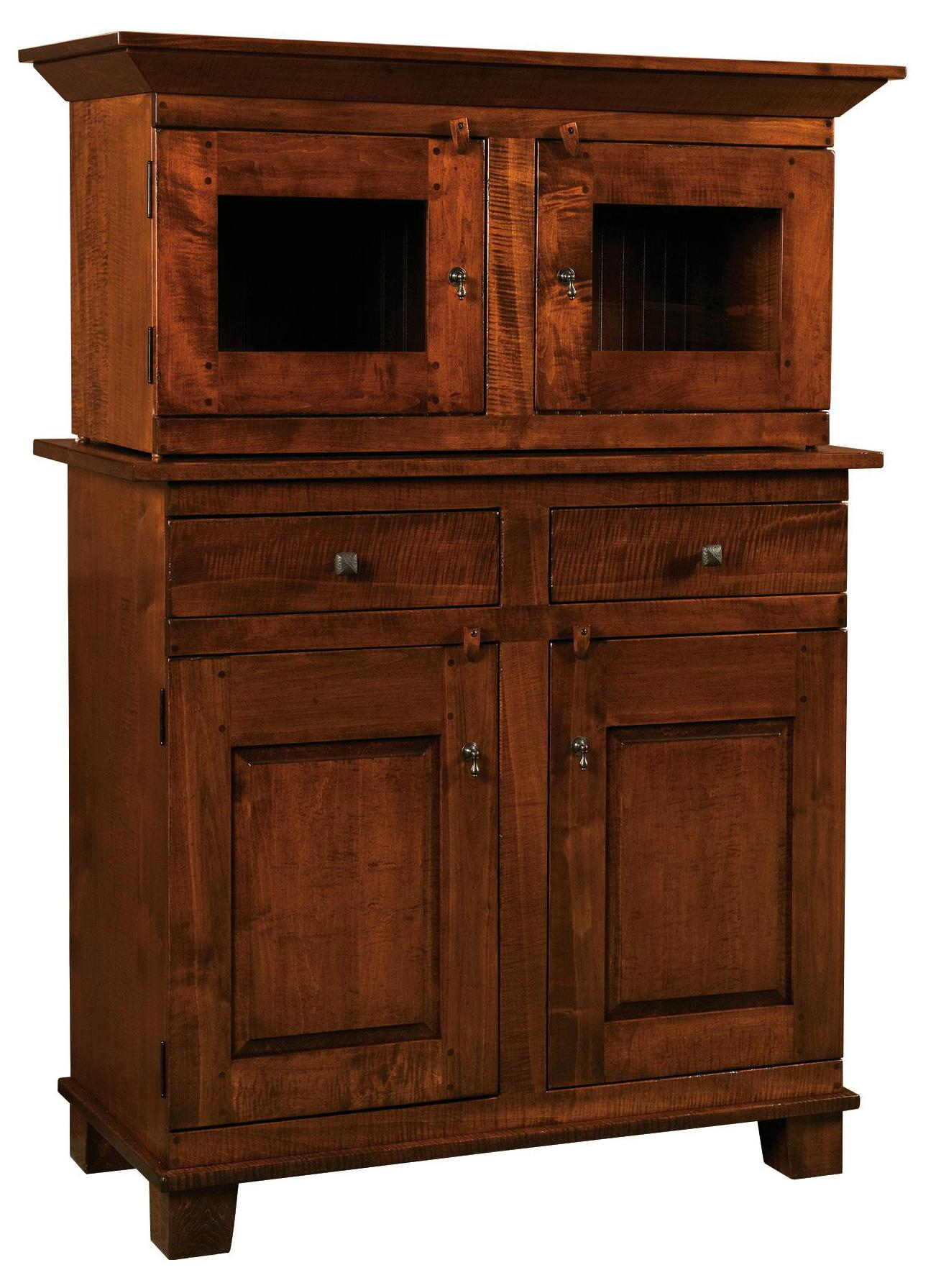 Webster Webster Amish Buffet & Hutch by Indiana Amish at Walker's Furniture