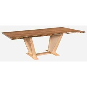 "Bookmatch Table 36"" x 84"""
