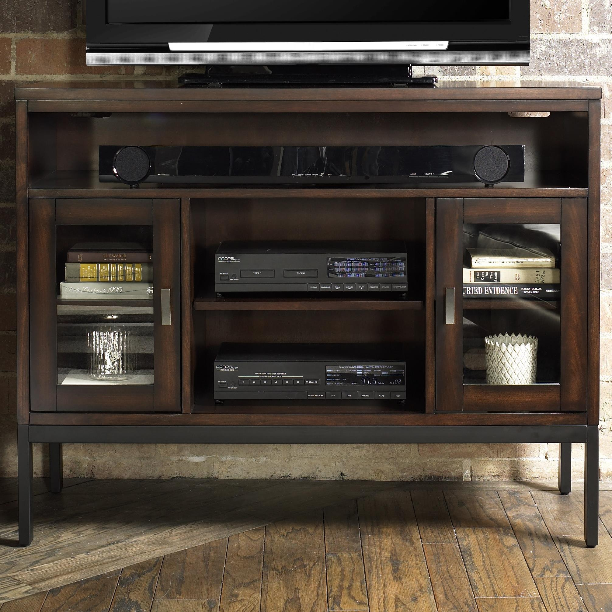 City Center TV Console at Sadler's Home Furnishings