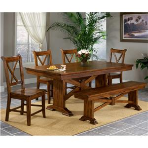 APA by Whalen Cornwall 6 Piece Dining Set