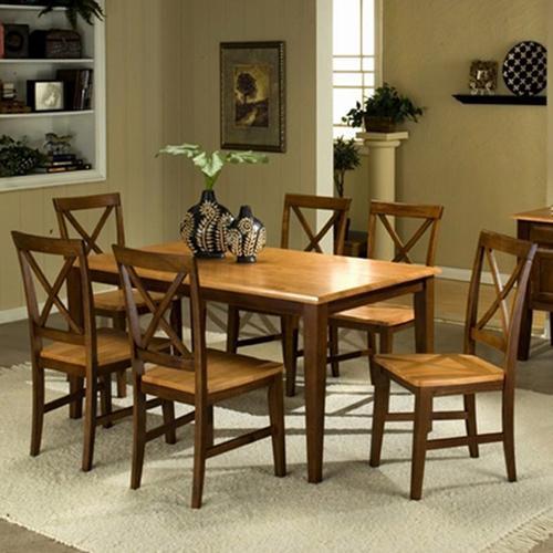 Camden 7-Piece Table Set at Sadler's Home Furnishings