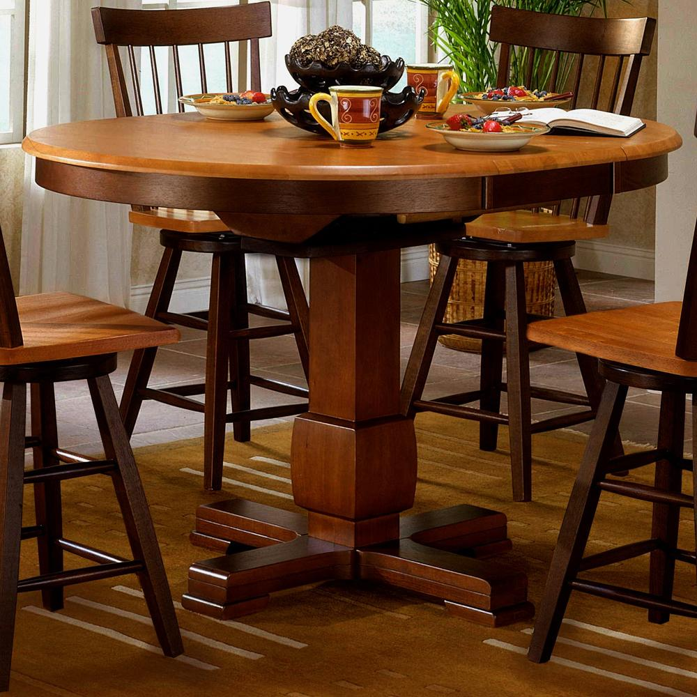 Camden Counter Height Pedestal Table at Sadler's Home Furnishings