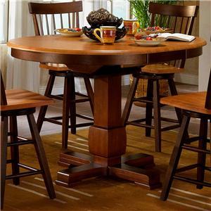 APA by Whalen Camden Counter Height Pedestal Table