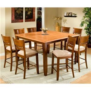 APA by Whalen Camden 9-Piece Counter Height Table Set
