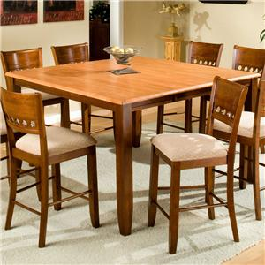"""APA by Whalen Camden 60"""" Square Counter Height Table"""