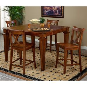 APA by Whalen Cornwall Five Piece Table Set