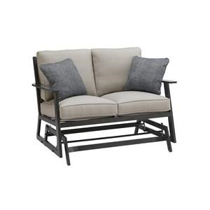 LOVESEAT GLIDER With 2 Pillows