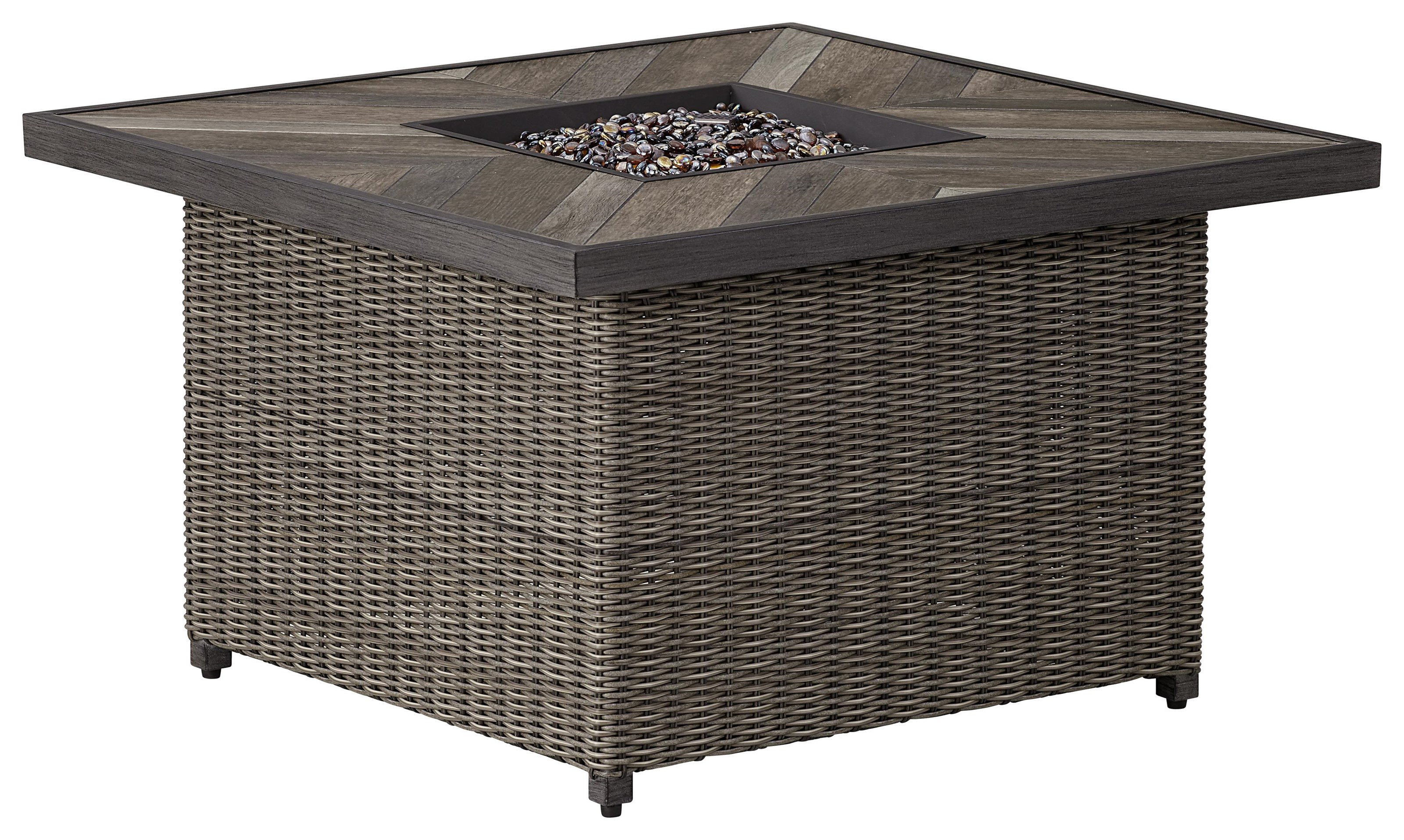Adison Square Fire Pit by Apricity Outdoor at Johnny Janosik