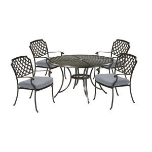 48 Inch Round Table and 4 Dining Chairs