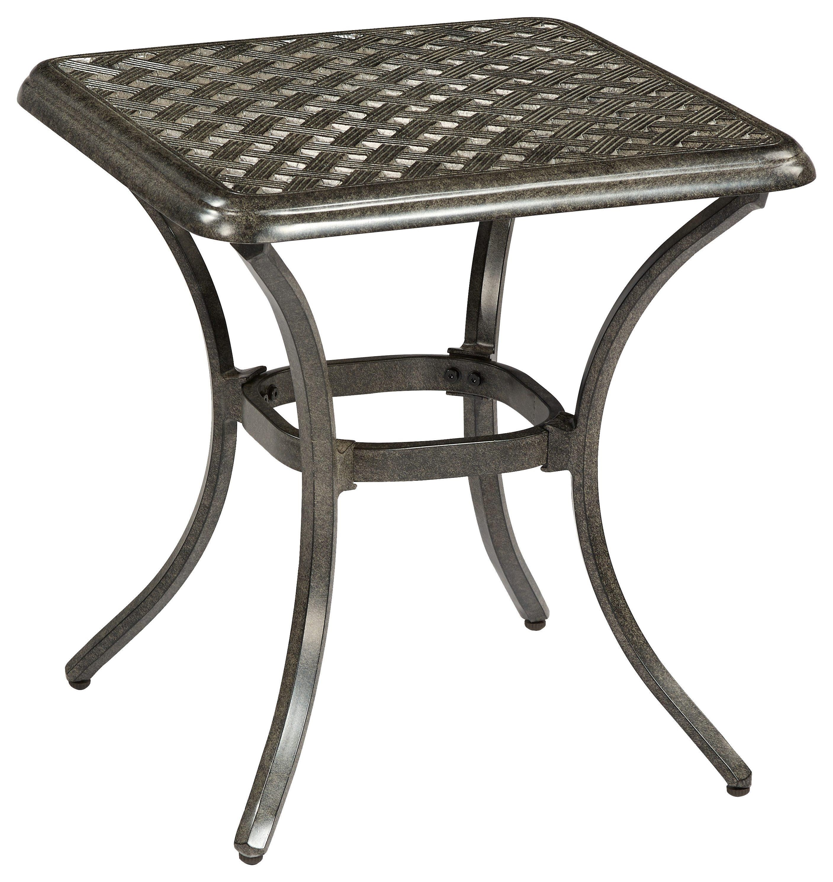 Madison Square End Table by Apricity Outdoor at Johnny Janosik