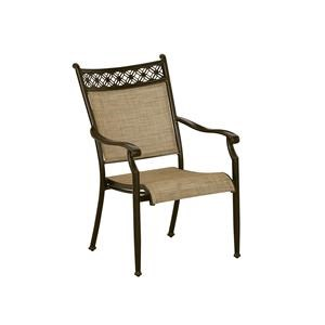 Cast Header Sling Dining Chair