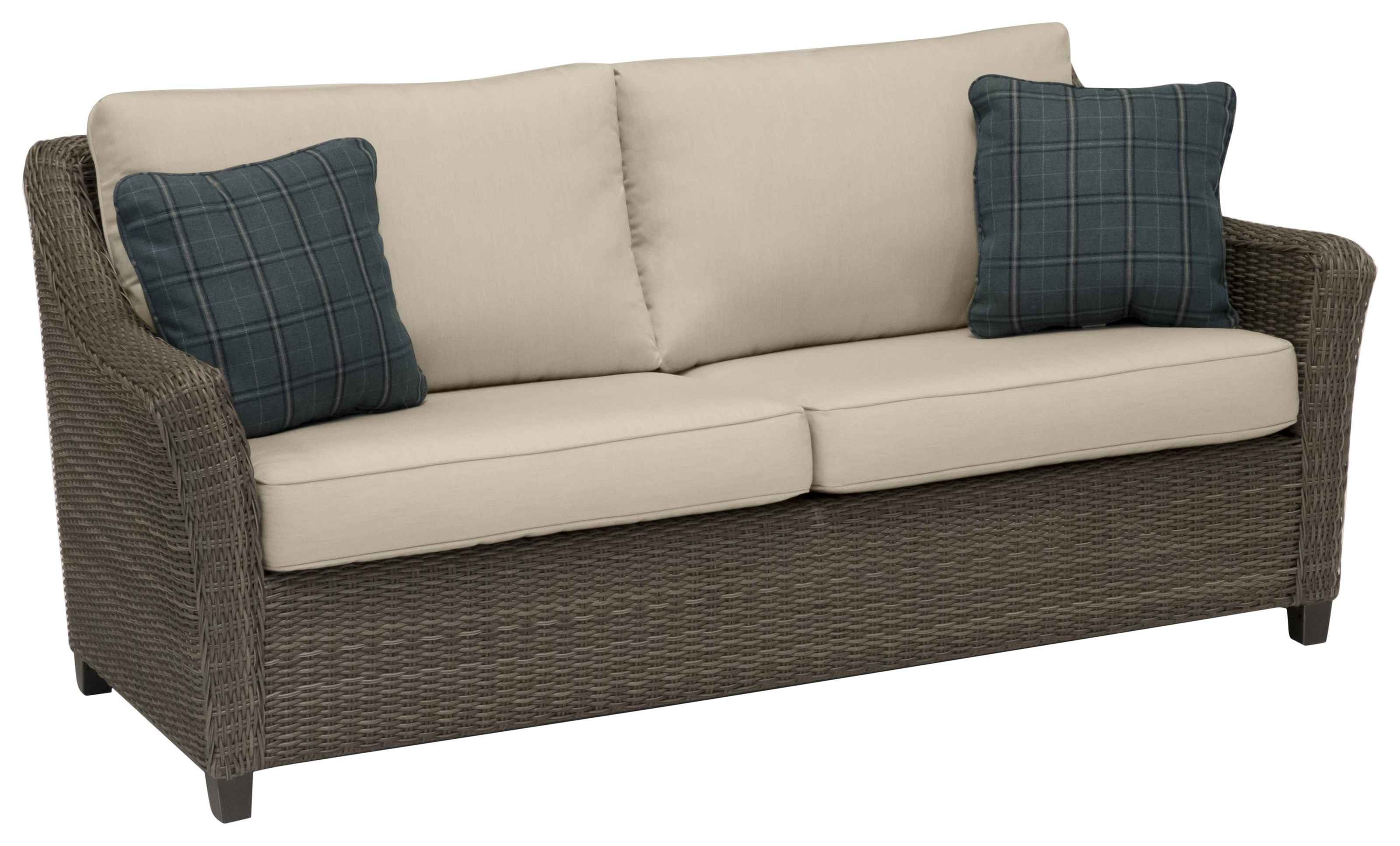 Oak Grove Sofa by Apricity Outdoor at Johnny Janosik