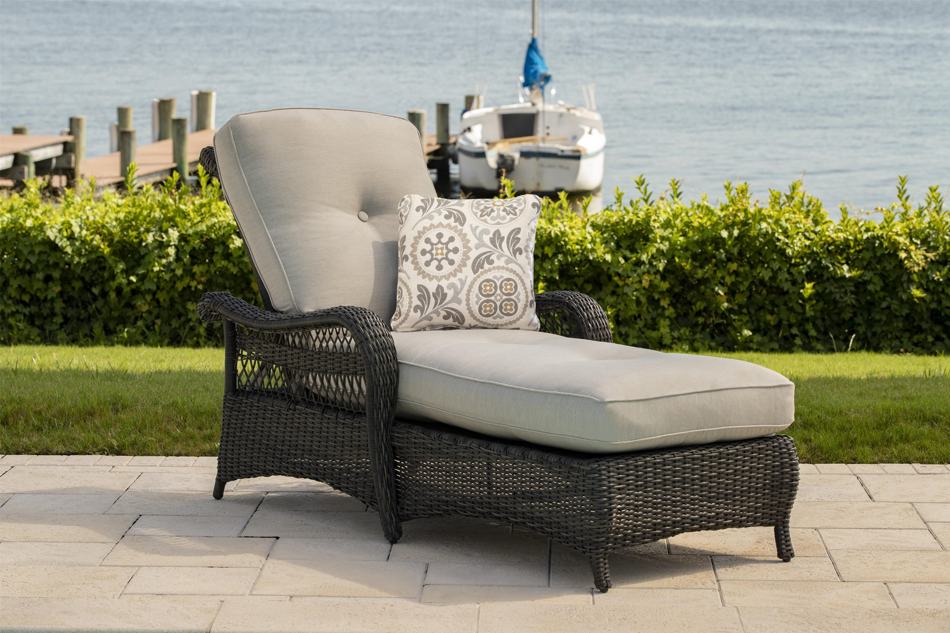 Riviera Chaise by Apricity Outdoor at Johnny Janosik