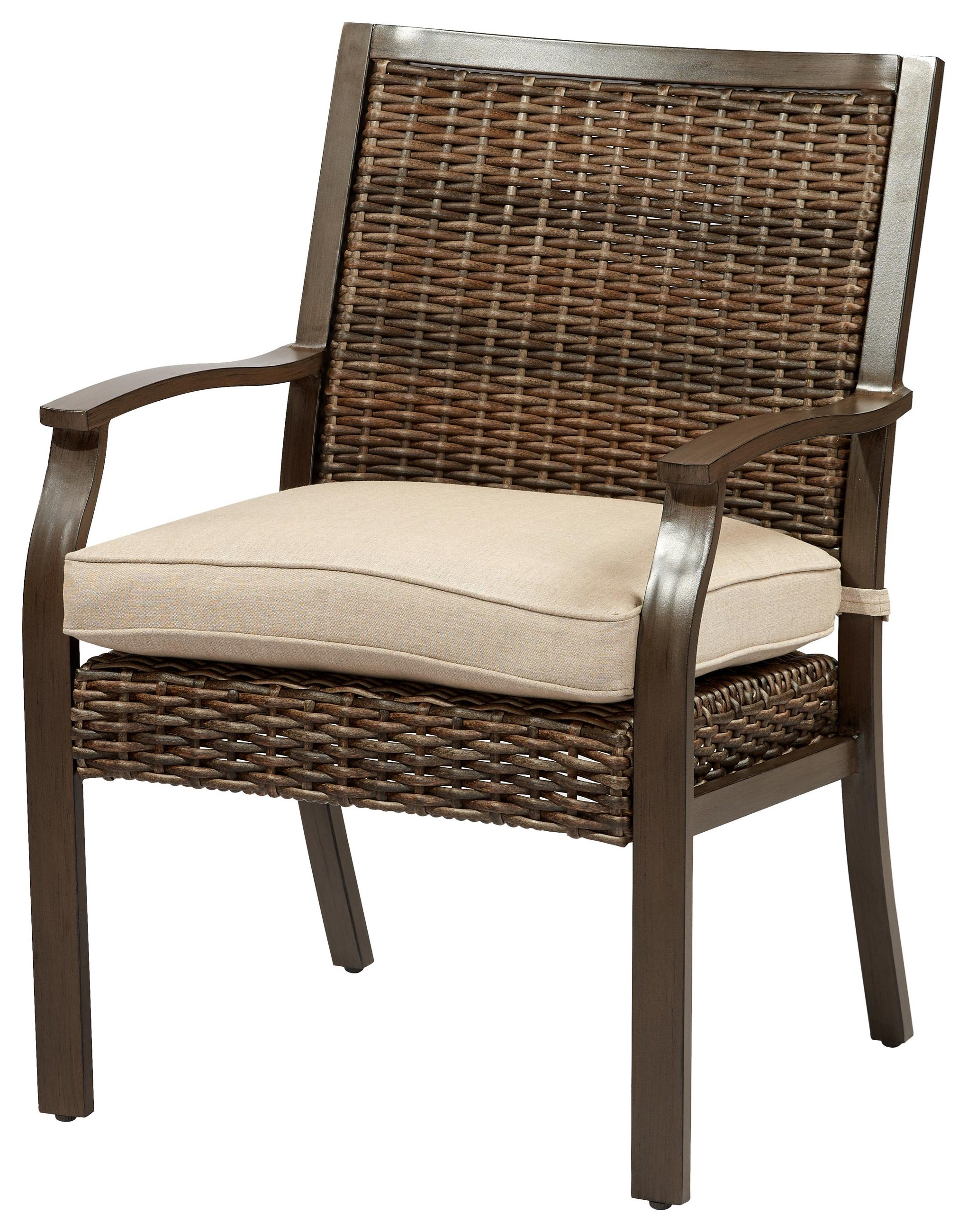 Trenton Dining Chair with Seat Cushion by Apricity Outdoor at Johnny Janosik