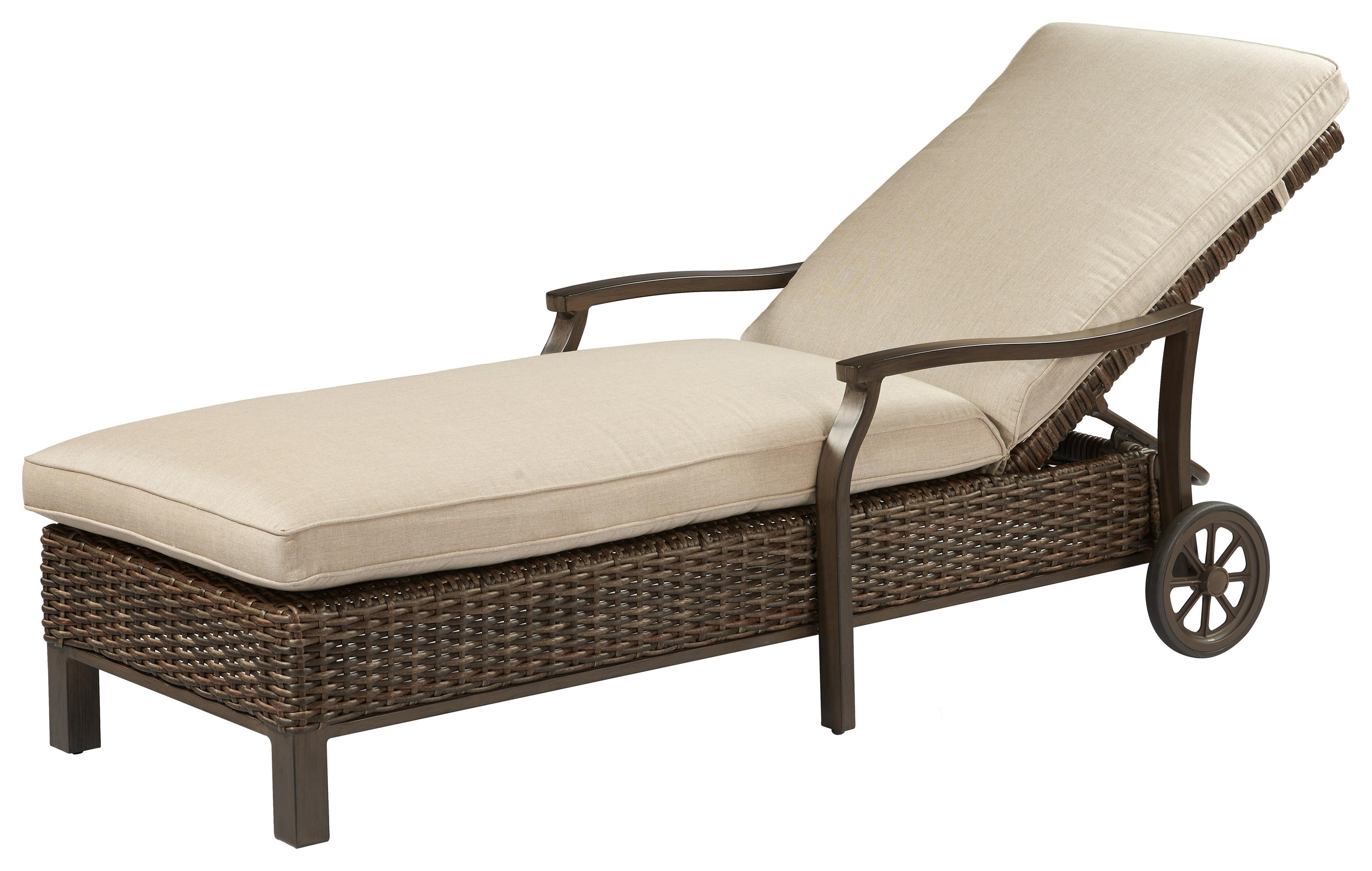 Trenton Chaise Lounge by Apricity Outdoor at Johnny Janosik